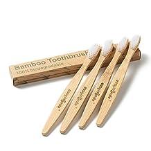 Easyinsmile® Plant-based Bamboo Toothbrush Adult Size 4 PCS