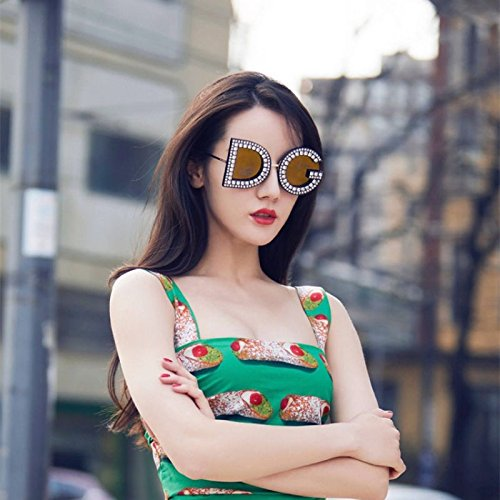 Femenino zhenghao Vogue Copas Brown Gafas Individuales Brown Vanguardia De Xue De Sol O4SzFqzg