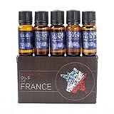 Gift Starter Pack of 5x10ml Essential Oils Of France