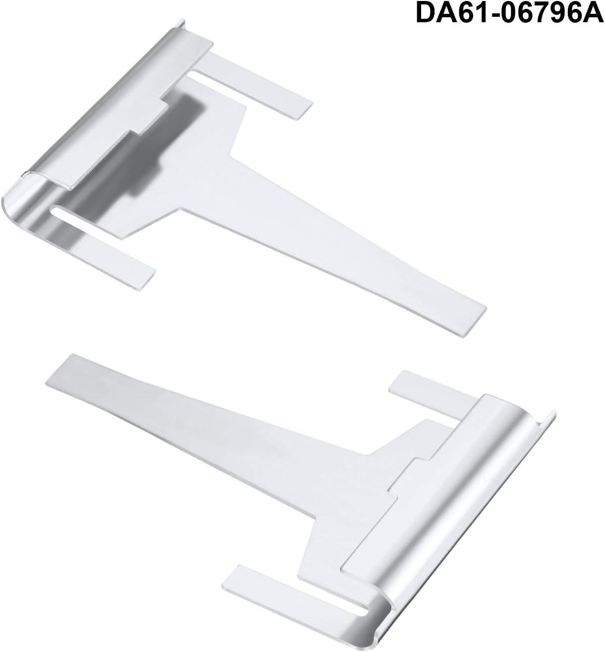 Hotop 3 Pieces Refrigerator Defrost Element Compatible with Samsung Including DA61-06796A Clip Drain Evaporator Refoem and Refrigerator Defrost Temp Sensor DA32-00006W and DA32-00006S