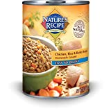 Nature's Recipe Canned Dog Food for Adult Dog, Eas...
