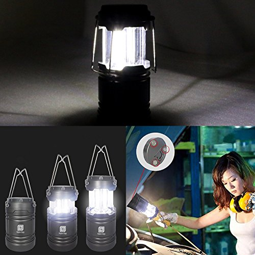 4-Pack Battery Operated with Collapsible Waterproof for