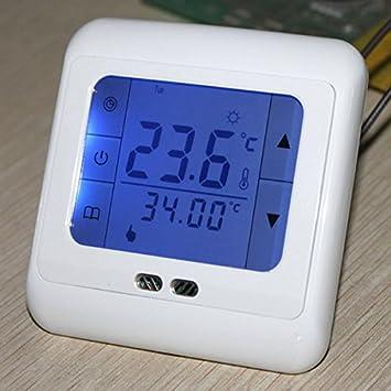 PhilMat digital de sala de control de calefacción por suelo radiante termostato programable pantalla tá