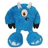 GoDog 770923 Yeti Bully Dog Toy, Blue, My Pet Supplies