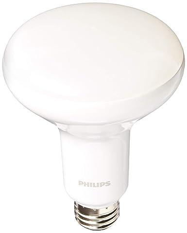 Pack de 4 Philips 65 W equivalente luz BR30 regulable bombilla LED 5000 K