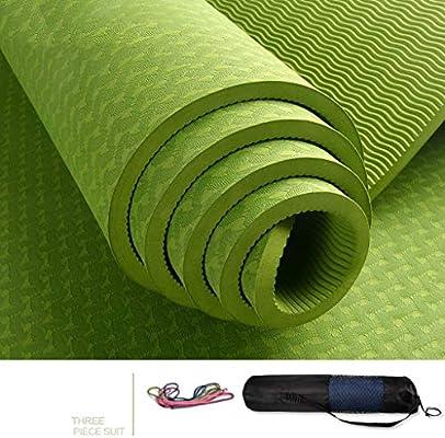 GNXIA Home Colchonetas de Yoga, 183 * 66 cm alargadas ...