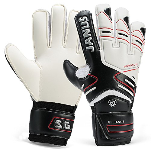 Youth Adult Goalie Goalkeeper Gloves With Finger Spines Strong Grip for The Toughest Saves & Comfortable Fit With Extra Padding to Reduce the Chance of Injury – DiZiSports Store