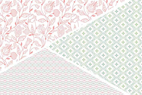 Vintage & Co Fabric & Flowers Scented Drawer liners (Pack of 6) ... by Heathcote & Ivory (Image #2)