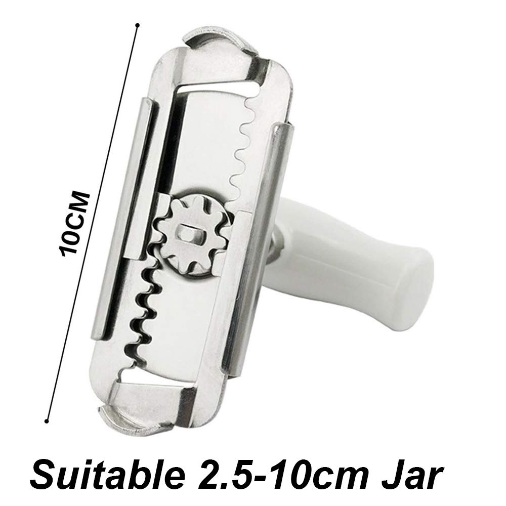 Kitchen Gadgets Seal Remove Screw Spiral Manual Bottle Openers Stainless Steel Can Opener Adjustable