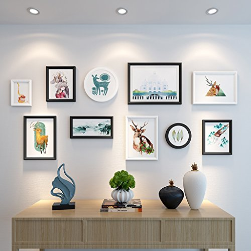 European - Style Photo Wall Frame Creative Living Room Picture Wall Combination Modern Minimalist Decoration ( Color : C ) by AI XIN SHOP