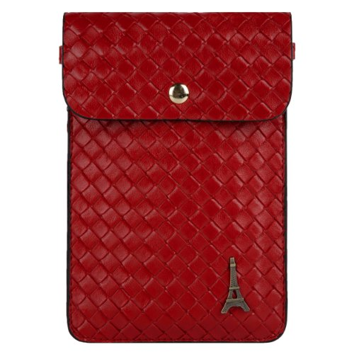 Paris Emblem Braid Womens Pouch