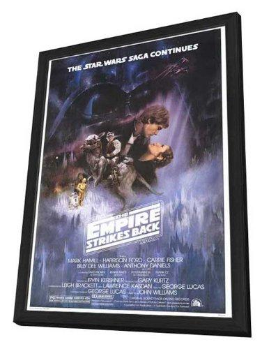 The Empire Strikes Back - 27 x 40 Framed Movie Poster