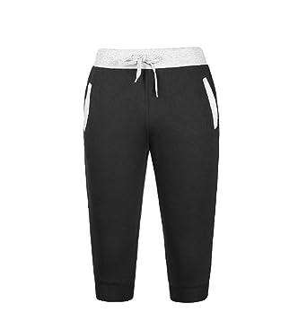 67495d19be900 ... Men Sport Fitness Jogging Elastic Stretchy Bodybuilding Bermuda  Sweatpants Sports Breathable Pants Summer Fitness Running Pants   Amazon.co.uk  Clothing