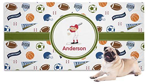 YouCustomizeIt Sports Pet Towel (Personalized) ()