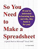 So You Need to Make a Spreadsheet, Yvonne Hayden, 0977966305