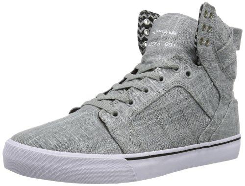 Supra Skytop De Basket-erwachsene Mixte Grau (gris - Gyw Blanc)