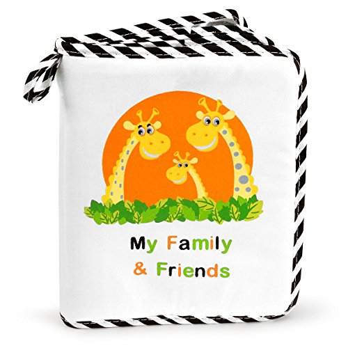 Baby's My Family & Friends First Photo Album - Cute Giraffe Family Theme! ()