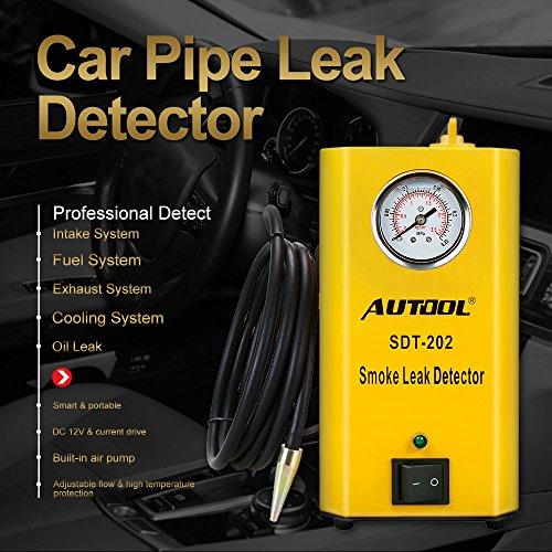 Autool 12V Automotive EVAP Tester Detectors Cars Pipe Leak Detector SDT-202 Car PIPE Leakage Detector Tester For All Vehicles Leak Tester Detector Machine by AUTOOL (Image #4)