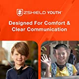 ZShield Youth - Kids Reusable Face Shield w/Full