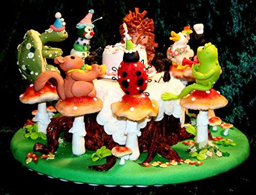 Woodland Picnic: Step by Step guide to making a Sugar Art Scene (Pottery The Woodlands)