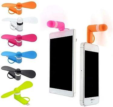CTOBB Mini Ventilador portátil USB frío para teléfono móvil para ...