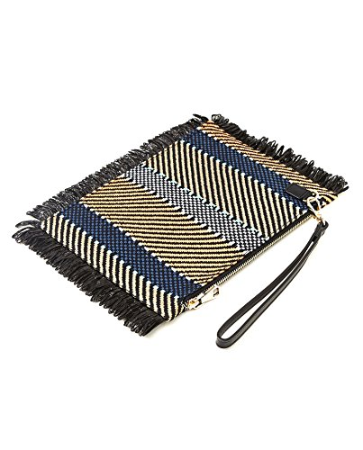 Multicoloured clutch Uterque 3016 750 herringbone Women 5PBZPqw1n