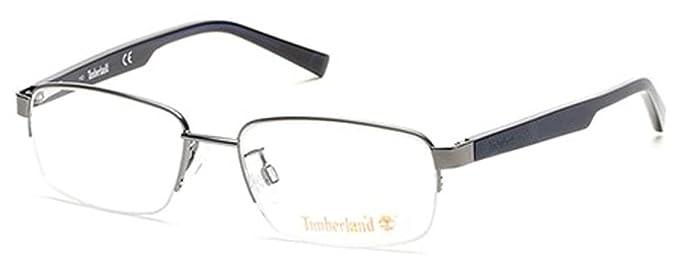 7b13b40d98 TIMBERLAND Eyeglasses TB1548 009 Matte Gunmetal 53MM at Amazon Men s ...