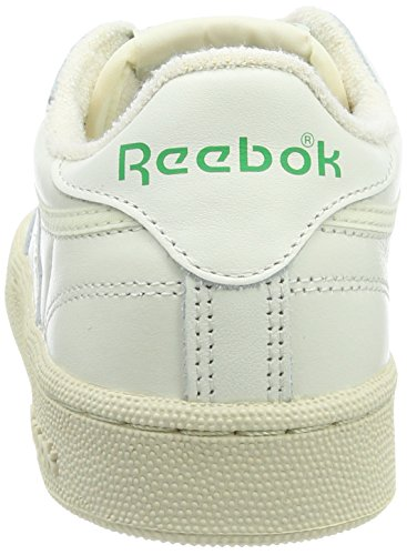 85 Red Sneaker Excellent Club Green C Vintage Paperwhite Chalk Grau Damen Reebok Glen 7Xq6wtP
