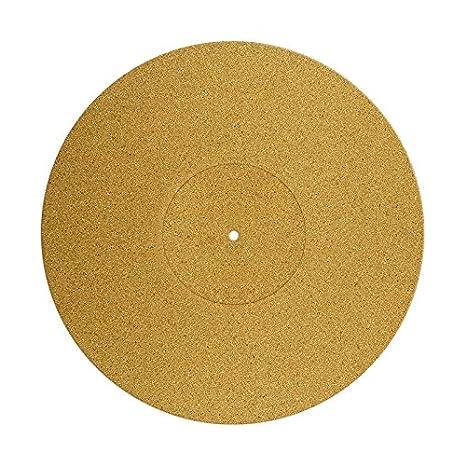 Premium calidad corcho giradiscos Mat. Antideslizante, mejor ...