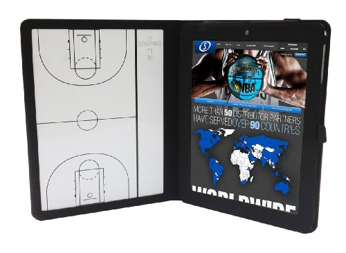 Spalding NBA iPad 2 Deluxe Cover with Coaches Board by Spalding
