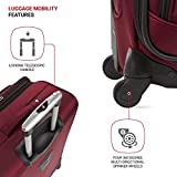 SwissGear Sion Softside Luggage with Spinner