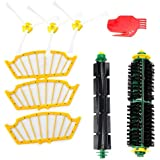efluky Replacement Accessories Kit for Roomba 500 Series 510 530 535 540 550 560 570 580 - Includes 3 Pack Filter and Side Brush, 1 Pack Bristle Brush and Flexible Beater Brush, 1 Pack Cleaning Tool