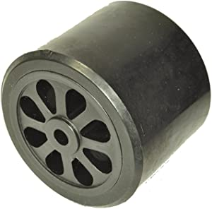 Royal Metal Upright Vacuum Cleaner Wheel, 2 Inch wide, 2 1/2 Inches in diameter, front or rear
