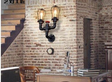 WYMBS Europäischen Stil Eisen Wandleuchten gang Loft Restaurant Lobby