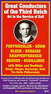 Great Conductors of the Third Reich [VHS]