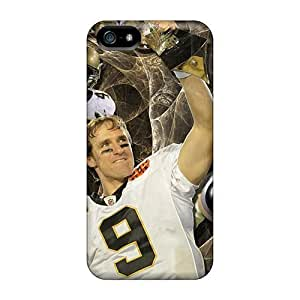 Qen9808cBqo New Orleans Saints Fashion Tpu 5/5s Cases Covers For Iphone