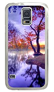 Beautiful Scenery Clear Hard Case Cover Skin For Samsung Galaxy S5 I9600 by icecream design