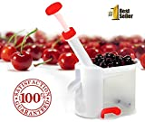 #1 Cherry Pitter Corer Stone Remover Machine! Easy - Fast All-In-One - Karma Kitchen Brand Olive Stoner
