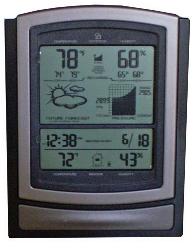 Accurite Deluxe Wireless Weather Center Deluxe Wireless Weather Station