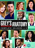 Grey's Anatomy (Complete Seasons 1-9) - 54-DVD Box Set [ NON-USA FORMAT, PAL, Reg.2 Import - United Kingdom ]