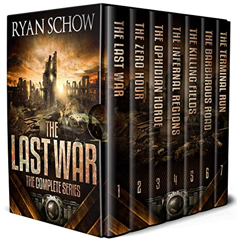 The EMP hit. Society collapsed. America now sits on the precipice of a new dark age…The Complete Last War Series (Books 1 – 7) by Ryan Schow