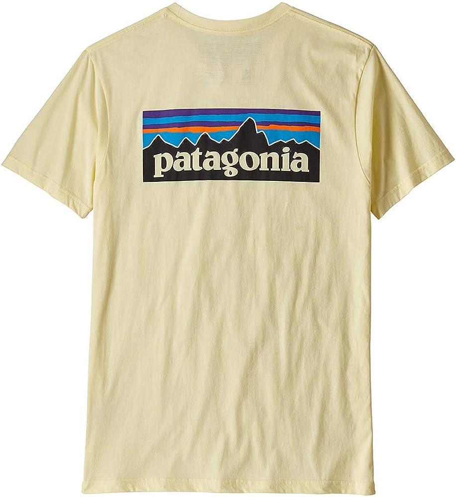 Patagonia Ms P-6 Logo Organic T-Shirt Maglietta Uomo
