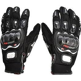 FAS Pro Biker Riding Gloves (XL, Black)