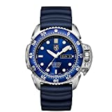 Image of Luminox Men's 'SEA' Swiss Automatic Stainless Steel and Rubber Casual Watch, Color:Blue (Model: 1523)