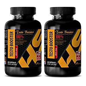 Male enhancing pills increase size - TESTO BOOSTER 855MG - Testosterone natural supplement - 2 Bottles 120 Capsules