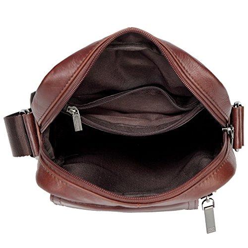 Vintage A Messenger Marrone Tracolla Borse Pu Donne Tote Moda Borsa Pelle Uwg6v