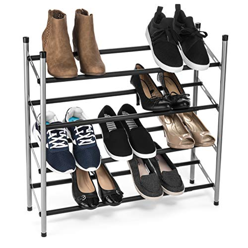 - USTECH 4 Tier Expanding Shoe Rack Holiday Deals