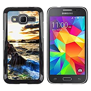 LECELL -- Funda protectora / Cubierta / Piel For Samsung Galaxy Core Prime SM-G360 -- Sunset Beautiful Nature 29 --