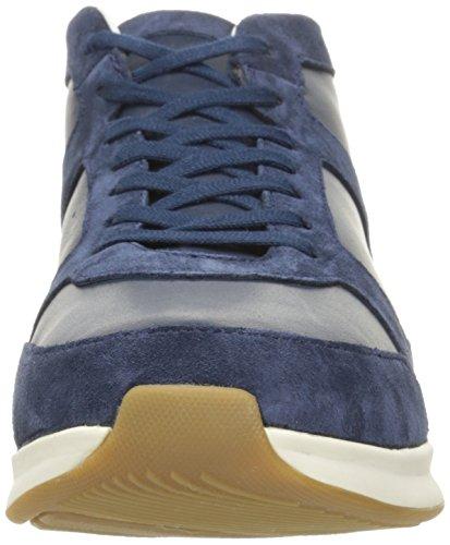 Lacoste Mens Joggeur Mid 316 1 Cam Fashion Sneaker Blu Scuro