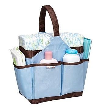 Amazon.com: Munchkin Portable pañal Caddy, azul (suspendido ...